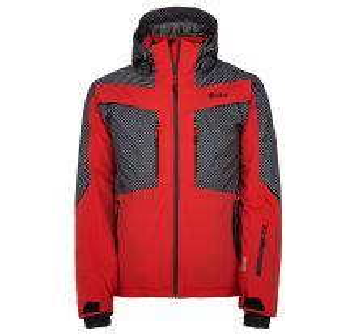 Pánska zimná lyžiarská bunda Kilpi IO-M červená