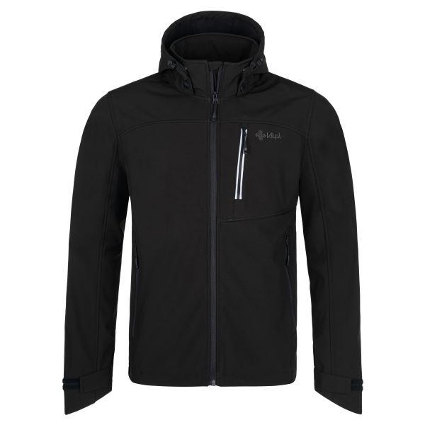 Pánská softshellová bunda Kilpi RAVIO-M čierna