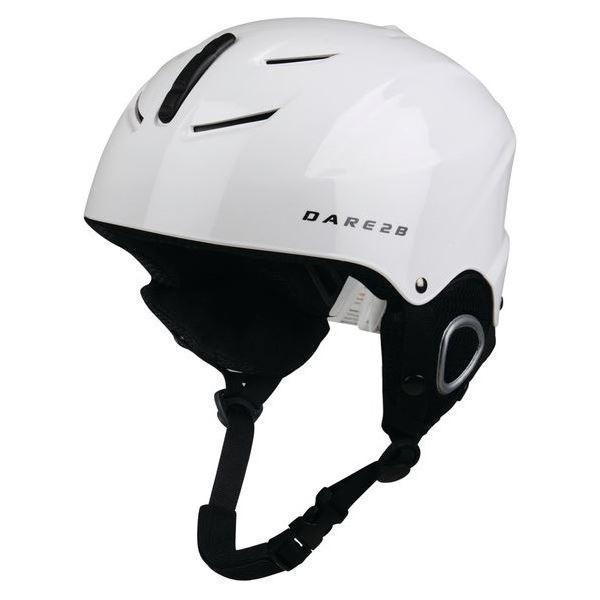 Detská lyžiarska helmy Dare2b SCUDO biela