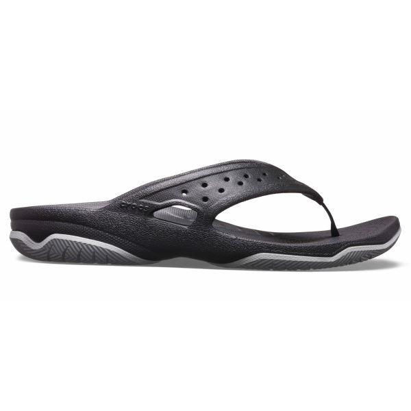 Pánske žabky Crocs SWIFTWATER čierna