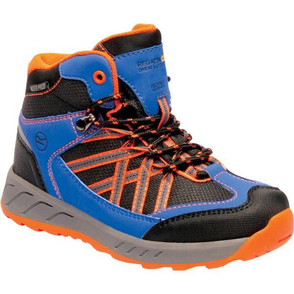 Detské topánky Regatta SAMARIS Jnr modrá / oranžová