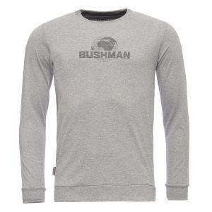 Pánske tričko BUSHMAN GREELEY svetlo šedá