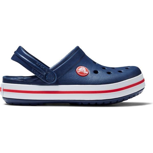 Detské topánky Crocs CROCBAND Clog K tmavo modrá/červená
