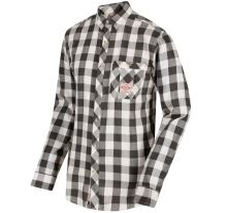 Pánska košeľa Regatta Loman tmavo khaki