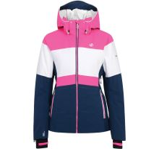 Dámska zimná lyžiarska bunda Dare2b AVOWAL modrá / ružová