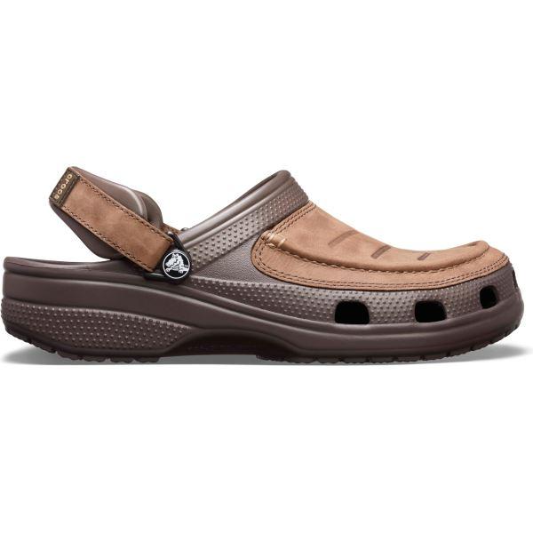 Pánske topánky Crocs YUKON VISTA Clog hnedá