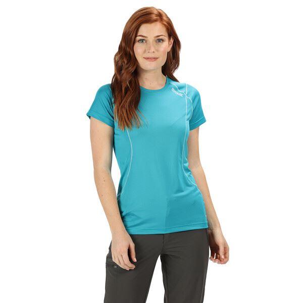 Dámske tričko Regatta Virde III modrá
