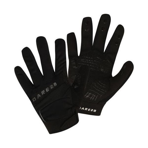 Pánske cyklistické rukavice Dare2b SEIZE čierna