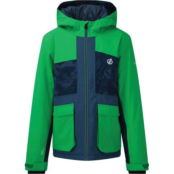 Detská zimná bunda Dare2b ESTEEM modrá / zelená