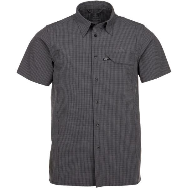 Pánska košeľa Kilpi BOMBAY-M tmavo sivá