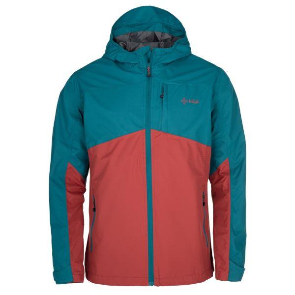 Pánska outdoorová bunda Kilpi ORLETI-M tmavo červená