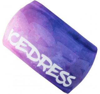 Univerzálná funkčná čelenka IceDress tmavo modrá