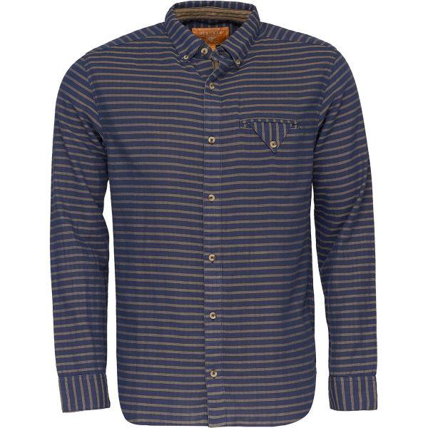 Pánska košeľa BUSHMAN REFUGIO tmavo modrá