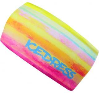 Univerzálne funkčné čelenka IceDress RAINBOW žltá