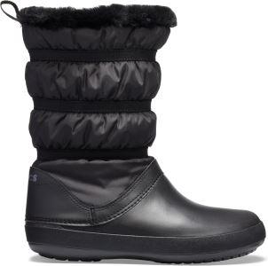 Dámske zimné topánky Crocs Crocband Winter Boot čierna