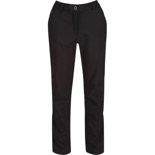 Dámske softshellové nohavice Regatta FENTON čierná