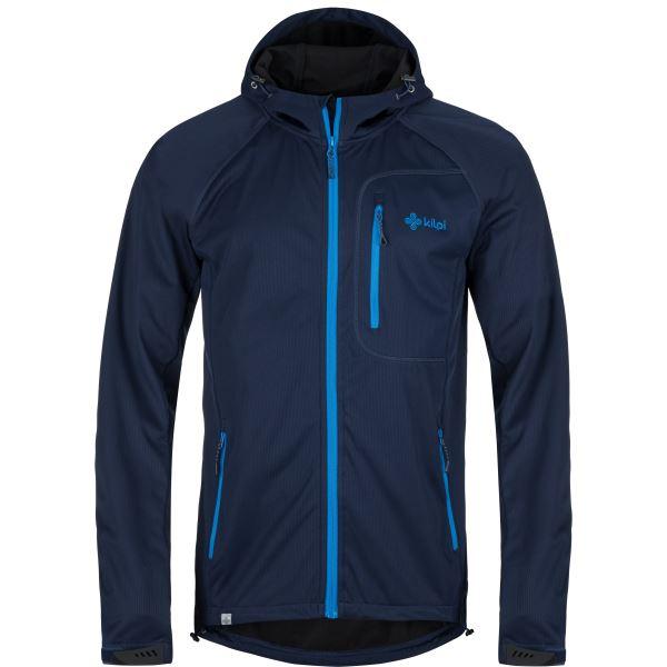 Pánska softshellová bunda Kilpi ENYS-M modrá