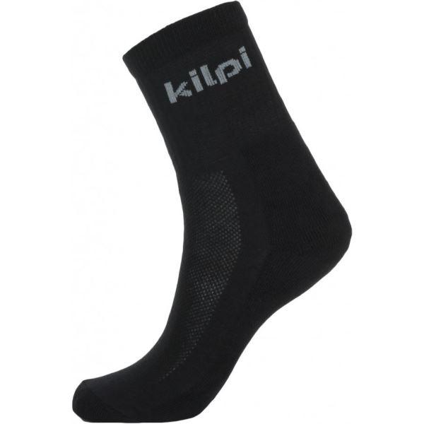 Unisex ponožky Kilpi akar-U čierna