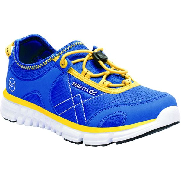 Detské topánky Regatta PLATIPUS II JNR modrá / zelená