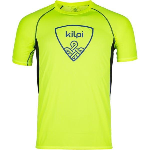 Pánske tričko Kilpi LITYS-M žltá
