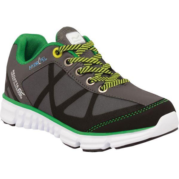 Detské topánky Regatta HYPER-TRAIL Low sivá / zelená