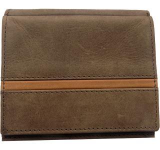 Pánska kožená peňaženka WFY 346 tmavo hnedá