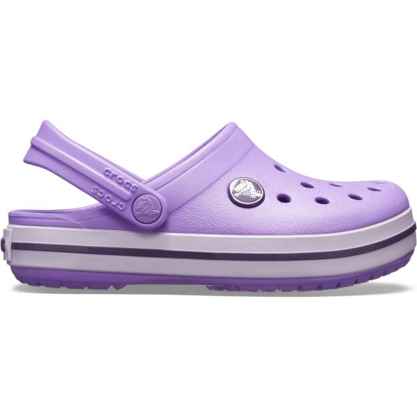 Detské topánky Crocs CROCBAND Clog fialová