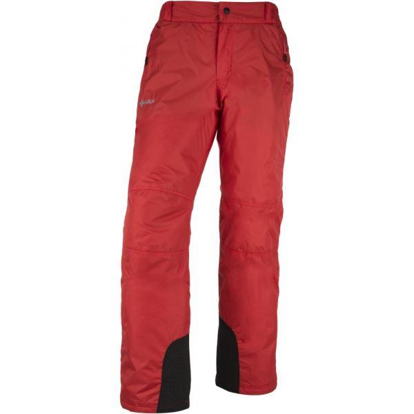 Pánske lyžiarske nohavice KILPI GABONE-M červená