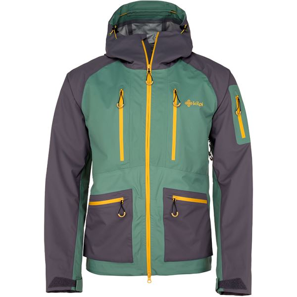 Pánska zimná lyžiarská bunda Kilpi JACKYL-M khaki