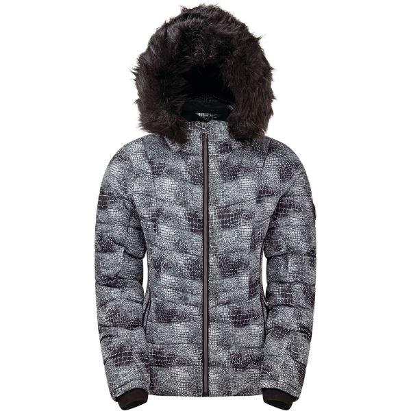 Dámska zimná bunda Dare2b GLAMORIZE II čierna / biela