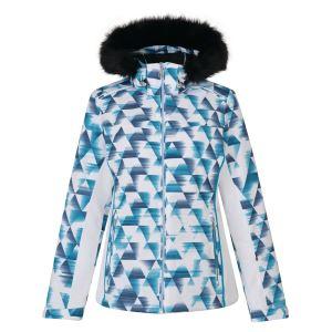 Dámska zimná lyžiarska bunda Dare2b COPIUS biela / modrá