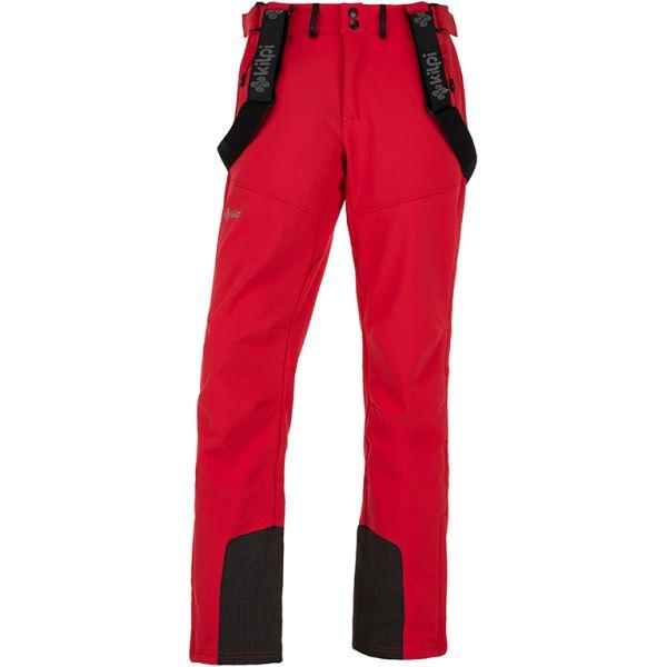 Pánske lyžiarské nohavice Kilpi RHEA-M červená