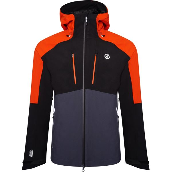 Pánska bunda Dare2b SOARING čierna / oranžová