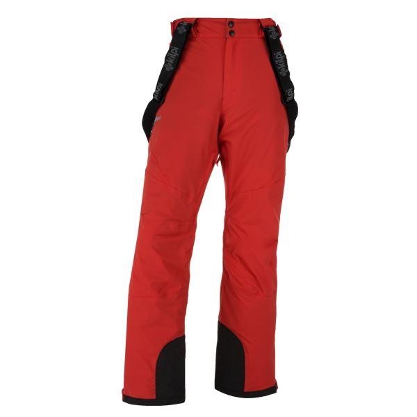 Pánske zimné lyžiarské nohavice KILPI METHONE-M červená