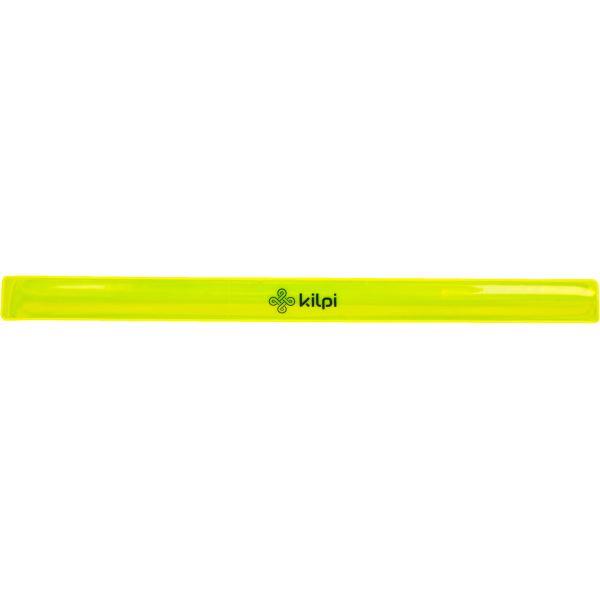 Unisex reflexný pásik na ruku Kilpi REFLECTOR-U žltá