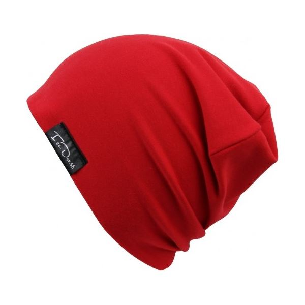 Detská bavlnená čiapka IceDress RED červená
