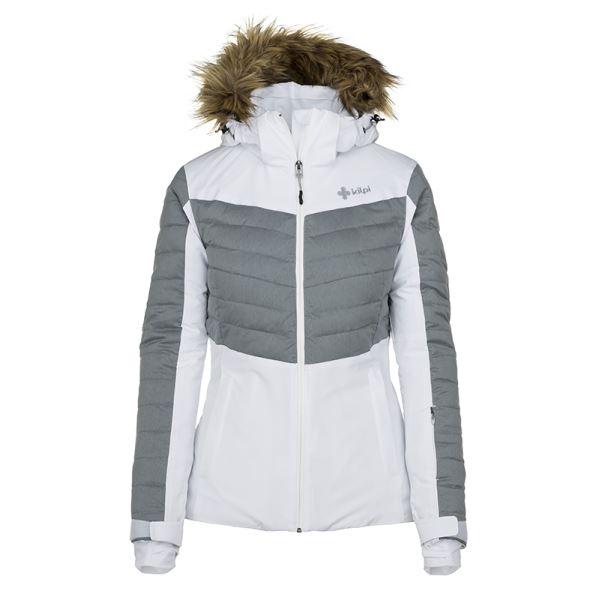 Dámska zimná lyžiarska bunda Kilpi BREDA-W biela