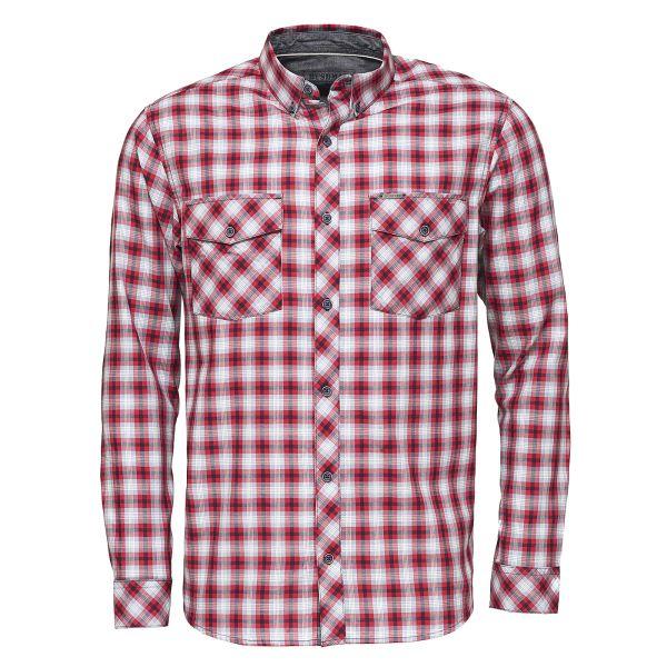 c68ba04edf34 Pánska košeľa BUSHMAN GRESHAM červená M