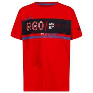 Detské tričko Regatta BOSLEY II červená