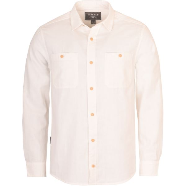 Pánska košeľa BUSHMAN SEADRIFT biela