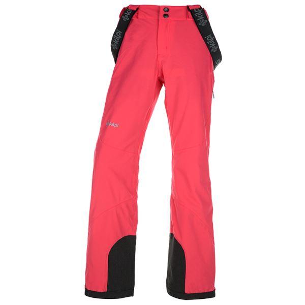 Dámske zimné lyžiarské nohavice Kilpi EUROPA-W ružová