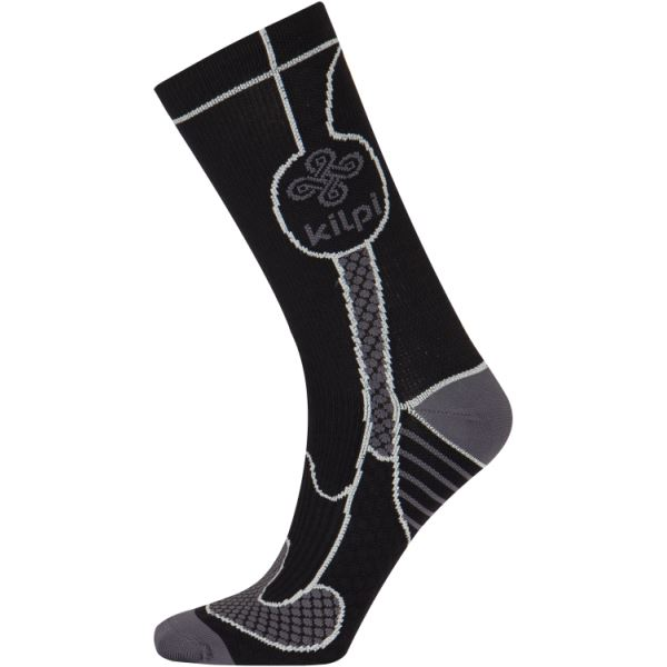 Unisex univerzálne ponožky Kilpi LEVI čierna