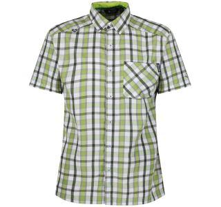 Pánska košeľa Regatta MINDANO III zelená