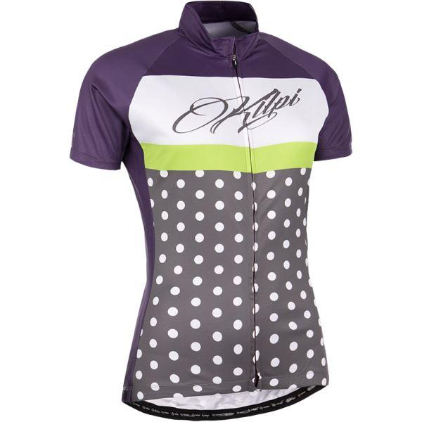 Dámsky cyklistický dres Kilpi DOTTY-W fialová