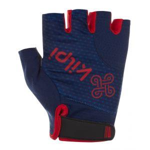 Unisex cyklistické rukavice Kilpi GELENI-U tmavo modrá