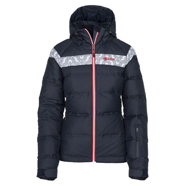 Dámska zimná páperová bunda Kilpi SYNTHIA-W tmavo modrá