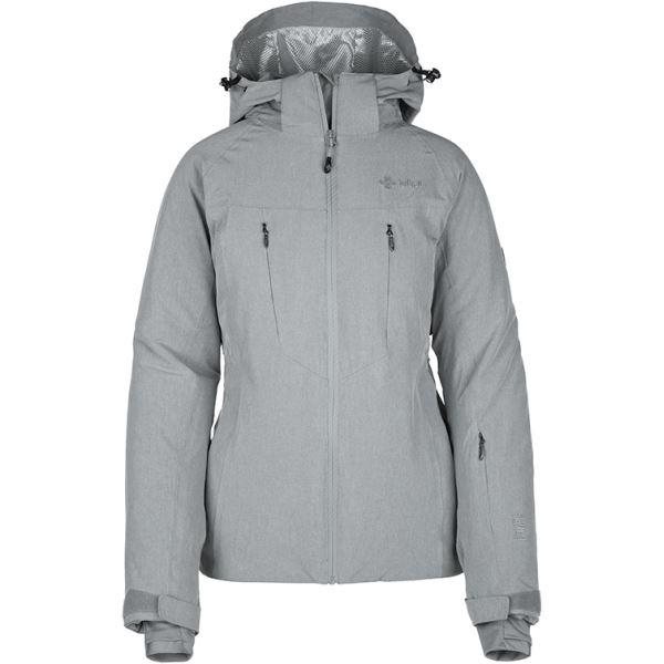 Dámska zimná lyžiarska bunda Kilpi ADDISON-W šedá (kolekcia 2019)