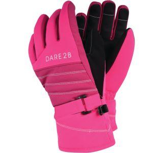 Detské lyžiarske rukavice Dare2b ABUNDANT ružová