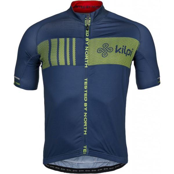 Pánsky cyklistický dres Kilpi CHASER-M tmavo modrá