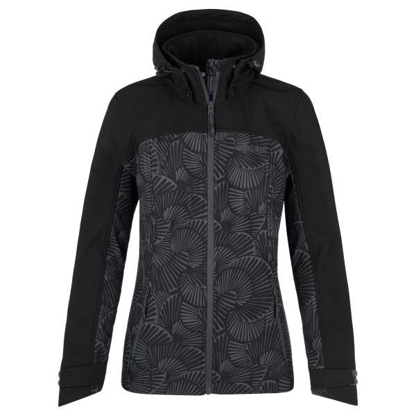 Dámska softshellová bunda Kilpi RAVIA-W tmavo šedá